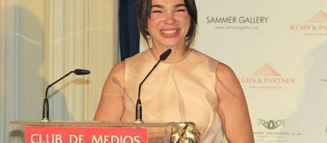 Beatriz Montañez, premiada por el Club de Medios