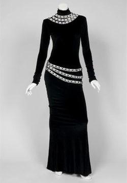 Vestido que Whitney Houston lució en la película 'El Guardaespaldas'