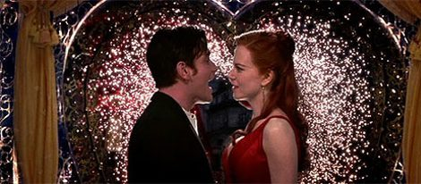Satine y Christian en 'Moulin Rouge!'
