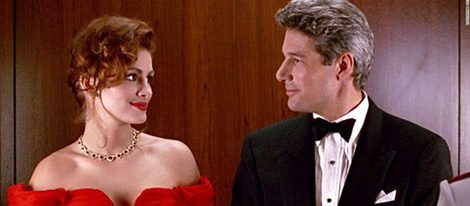 Vivian y Edward en 'Pretty Woman'