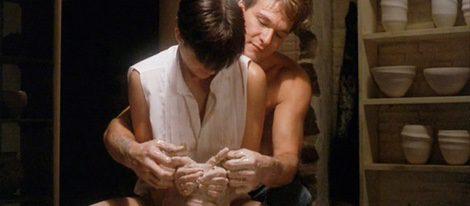 Sam y Molly en la escena de la arcilla de 'Ghost'