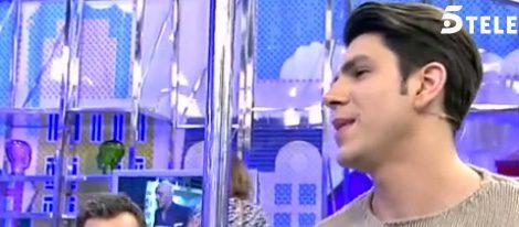 Diego Matamoros en 'Sálvame' / Imagen: telecinco.es