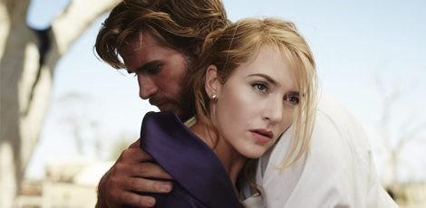 Kate Winslet y Liam Hemsworth en 'La modista'