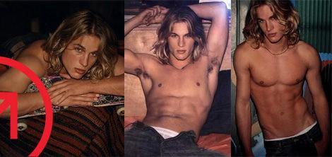 Travis Fimmel, imagen de la fragancia Calvin Klein Crave