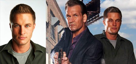 Travis Fimmel protagonizó 'The Beast' junto a Patrick Swayze | A&E