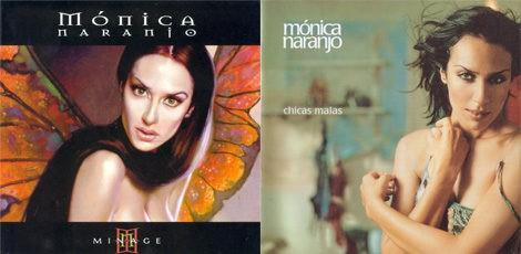 Mónica Naranjo se pasó al pelo negro en sus siguientes trabajos discográficos