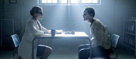 Jared Leto interpretando a El Joker en la película 'Escuadrón Suicido'/ ecartelera.com