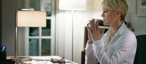 Robin Wright como Claire Underwood en 'House of cards'