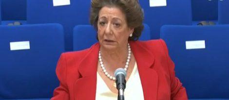 Rita Barberá declara en el juicio por el Caso Nóos