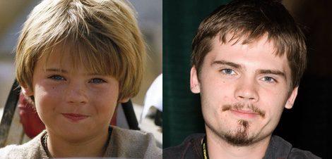 Jake Lloyd en 1999 y en 2011