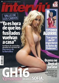 Interviú Desnuda A Amanda De Gran Hermano 16 Para Cargar Contra La