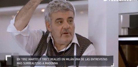 Millán Salcedo cuenta su aventura con Madonna / Telecinco.es