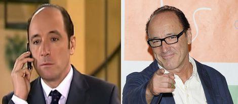 Roberto Álvarez en la serie y en la actualidad