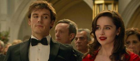 Sam Claflin y Emilia Clarke en la película 'Antes de ti'