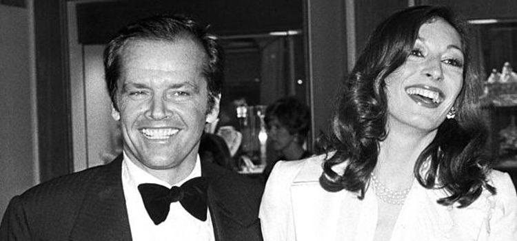 Anjelica Huston y Jack Nicholson cuando estuvieron juntos