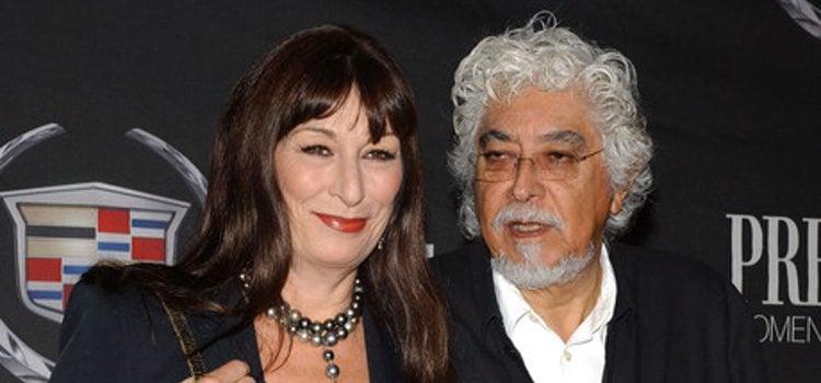 Anjelica Huston con su marido Robert Graham