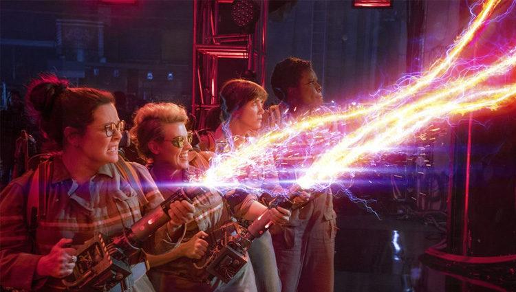 Fotograma del reboot de 'Cazafantasmas' ahora con reparto femenino