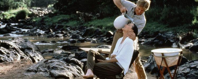 Escena icónica entre Meryl Streep y Robert Redford en 'Memorias de África'