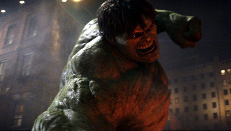 Fotograma de una de las películas de Hulk