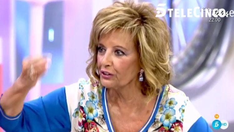 María Teresa Campos en 'Qué tiempo tan feliz'/ telecinco.es