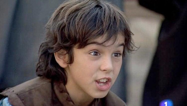 Óscar Casas en la serie de TVE 'Águila Roja'
