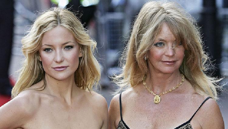 Goldie Hawn y su hija