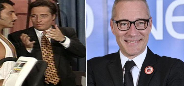 Goyo González en 'La casa de los líos' (izq) y en 2016 (der)