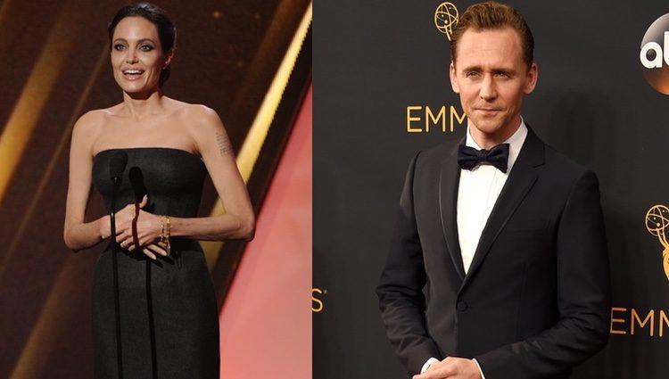 Tom Hiddleston y Angelina olie podrían hacer muy buena pareja
