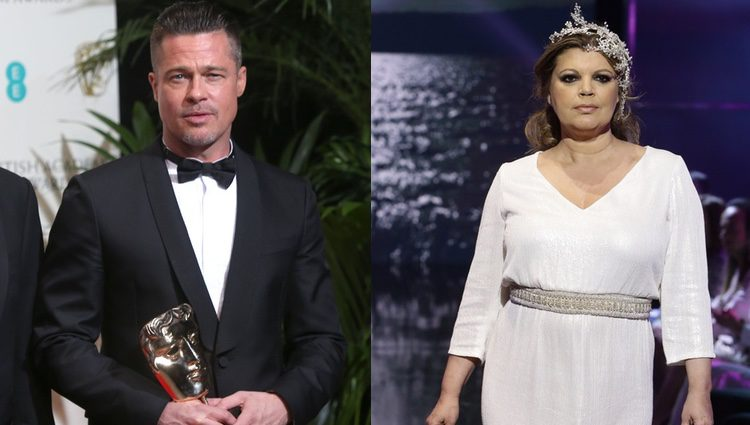 Terelu y Brad Pitt no harían mala pareja