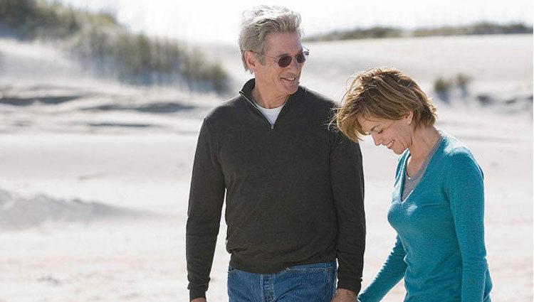 Richard Gere y Diane Lane en 'Noches de tormenta'
