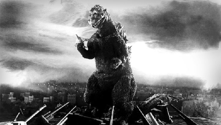 Película original de Godzilla