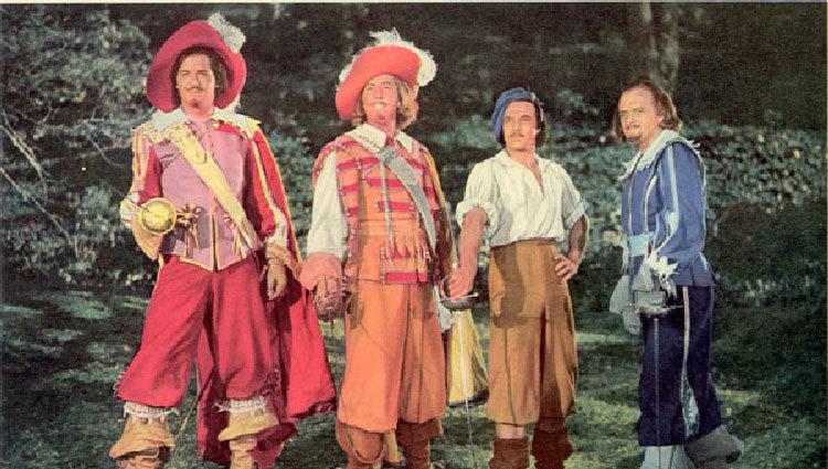 'Los tres Mosqueteros' de 1948