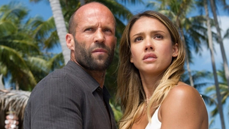 Jason Statham Jessica Alba Mechanic Resurrection pelicula 2016