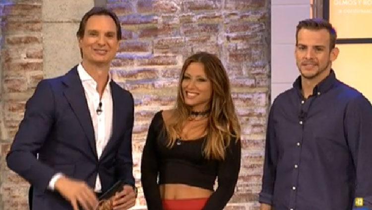 Álex Casademunt y Vero Romero en 'Hora punta'/ Fuente: TVE
