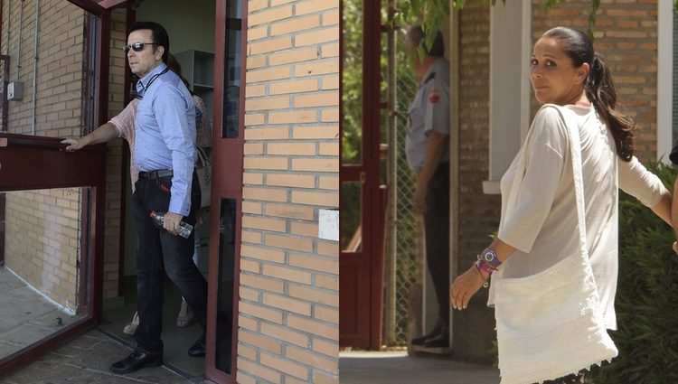 Ortega Cano e Isabel Pantoja en la cárcel