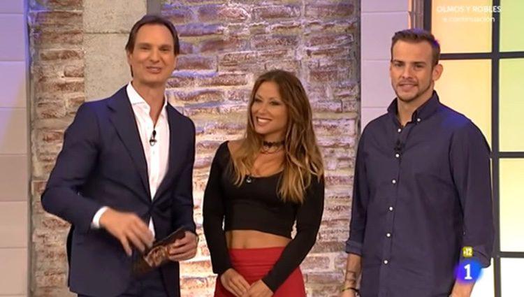 Álex Casademunt y Verónica en el programa 'Hora punta'. Imagen: rtve.es