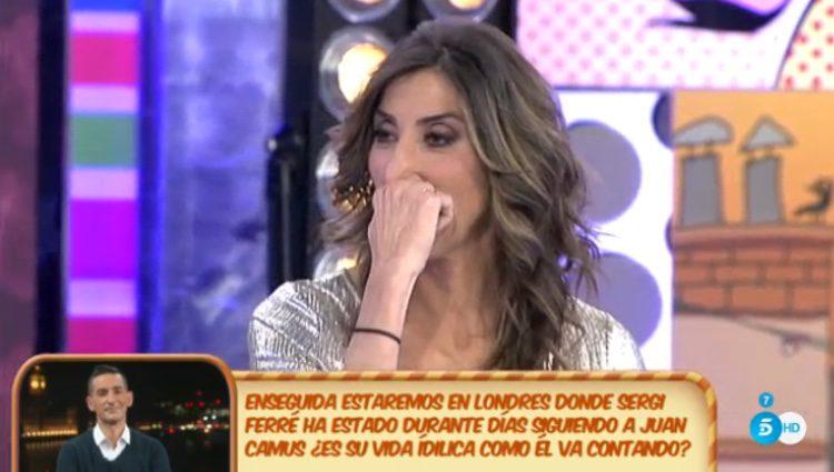 Paz Padilla emocionada al pensar en volver a ser madre / Telecinco.es