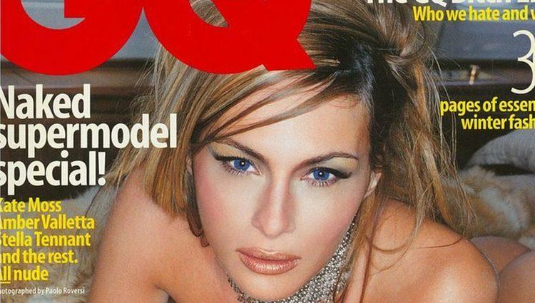 Melania Trump en la portada de GQ desnuda