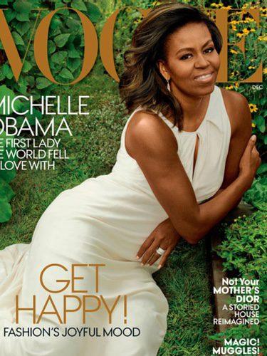 Michelle Obama en la portada de Vogue