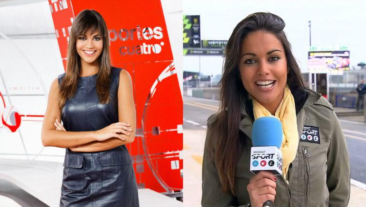 Lara Álvarez fue presentadora de 'Deportes Cuatro' y reportera de 'MotoGP'