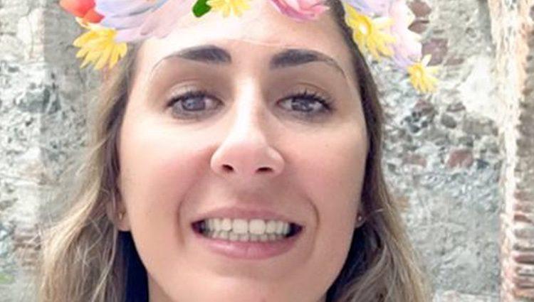 María Villar. Fuente: Snapchat