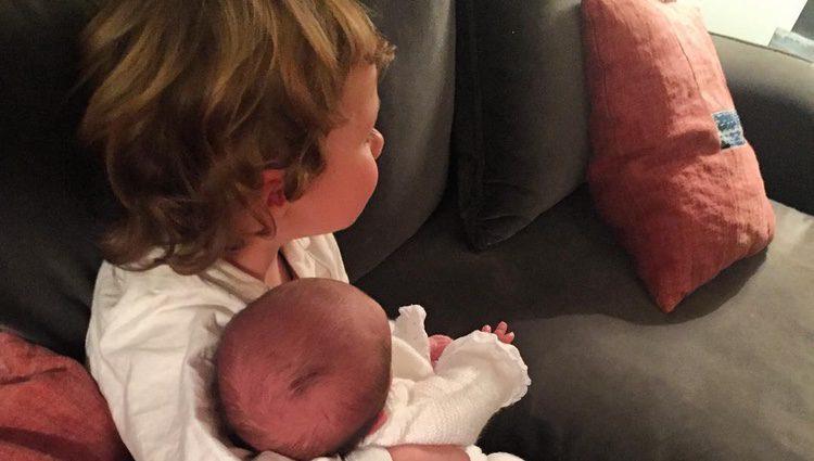 Gonzalo y Jaime, hijos pequeños de Amelia Bono y Manuel Martos. Fuente: Instagram