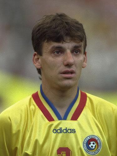 Daniel Prodan cuando jugaba en Rumanía