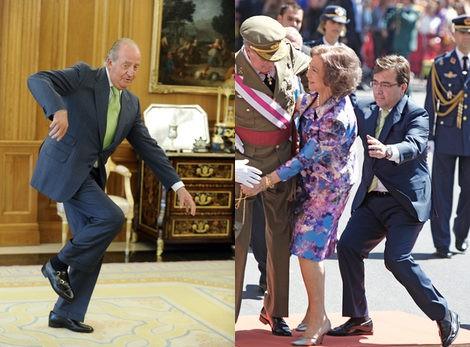 La caida del Rey Juan Carlos y de la Reina Sofía