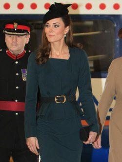 La Duquesa de Cambridge en Leicester