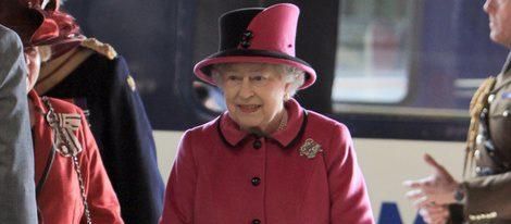 La Reina Isabel II en Leicester