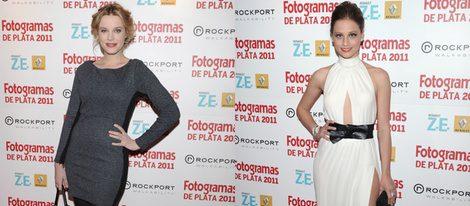 Carolina Bang y Michelle Jenner en la alfombra roja de los Fotogramas