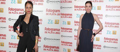 Hiba Abouk y Dafne Fernández en los Fotogramas 2012