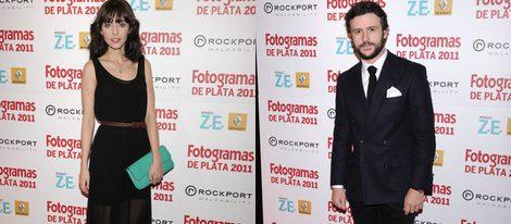 Leticia Dolera y Diego Martín en los Fotogramas de Plata