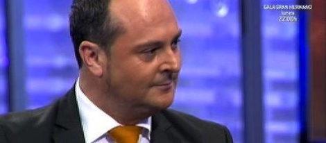 Nacho Montes durante la entrevista de 'La noria'